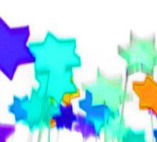 Pop Art Star white background 1 (English) Sticker