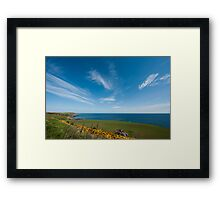 Scotland Coast Framed Print