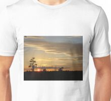 Beautiful October Sunset 2015 Unisex T-Shirt