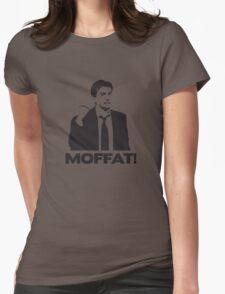 MOFFAT! David Tennant Fist Shake Womens Fitted T-Shirt