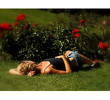 Sleeping Beauty (Oregonian Style) Photographic Print