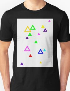 Colourful triangles T-Shirt