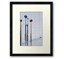 La Defense puzzle Framed Print
