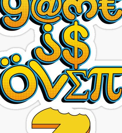 Game Over Sticker