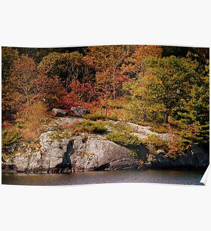 Autumn In The Muskoka's Poster