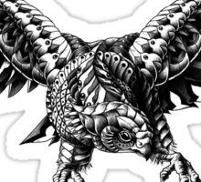 Ornate Falcon Sticker