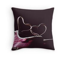 I love Chucks! Throw Pillow