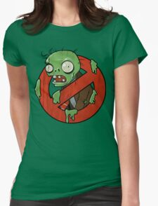 Zombie Buster Womens Fitted T-Shirt