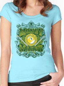 Money Maker Women's Fitted Scoop T-Shirt