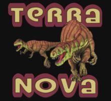 Terra Nova Dinosaurs One Piece - Long Sleeve