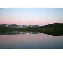Storhaugvatnet - mountain lake reflections Photographic Print