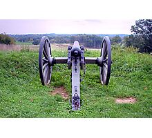 Civil War Cannon in Gettysburg, PA Photographic Print