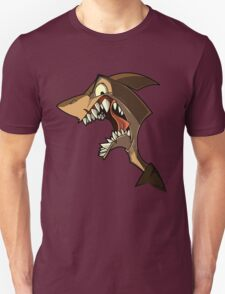 Angry brown shark with shading T-Shirt