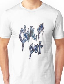Ice Blue Chill Out Unisex T-Shirt