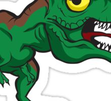 Tiny Cute Baby Trex Sticker