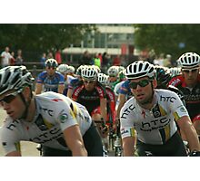 Mark Cavendish within the peloton Photographic Print