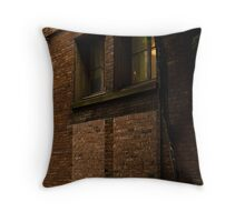A  Light in the Window Throw Pillow