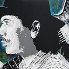 Carlos Santana by Erik Pinto