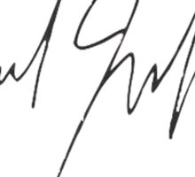 The Weeknd - Signature Sticker