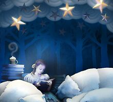 She Reads Them to Sleep by Peyton Duncan