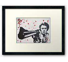 Dirty Harry Framed Print