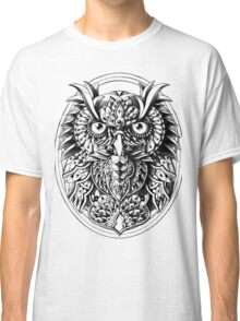 Owl Portrait Classic T-Shirt