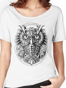 Owl Portrait Women's Relaxed Fit T-Shirt