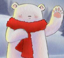 Season Greetings - Bear design Sticker