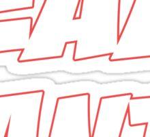 TEAM SANTA Sticker