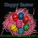 Easter Eggs Card and Gifts by hummingbirds