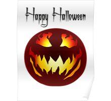 Scary Jack O' Lantern Poster