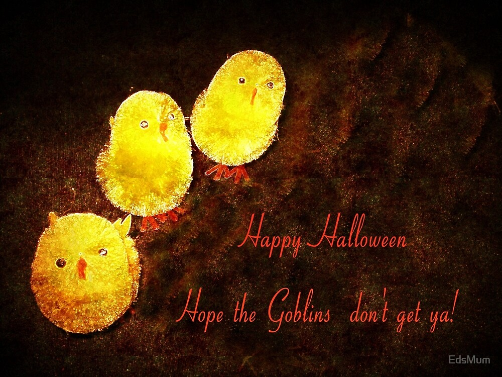 Halloween Chickens - card by EdsMum