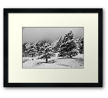 The Third Flatiron From Bluebell Road Framed Print