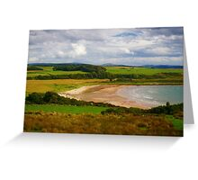 Scalpsie Bay Greeting Card