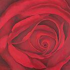 Secrets ( Red Rose) by Kim Bender