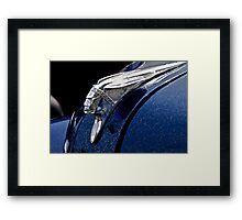 Chief Chrome Framed Print