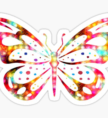Beauty Flys Sticker