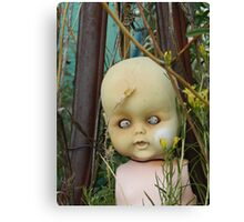 Zombie Doll  Canvas Print