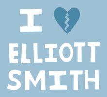 I <3 Elliott Smith Kids Clothes