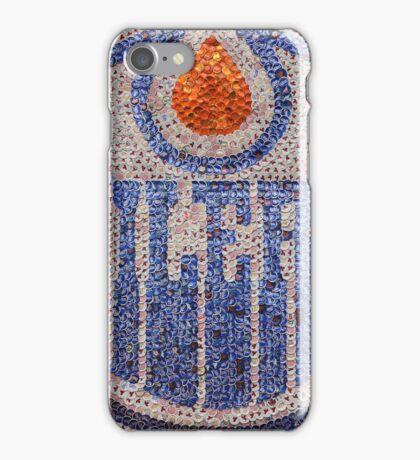 The Oilers - Bottle Cap Mosaic iPhone Case/Skin