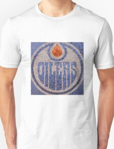 The Oilers - Bottle Cap Mosaic T-Shirt