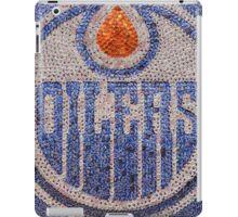 The Oilers - Bottle Cap Mosaic iPad Case/Skin
