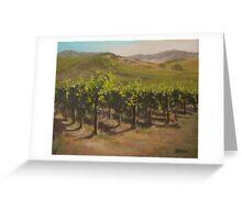 Vineyard Summer Greeting Card