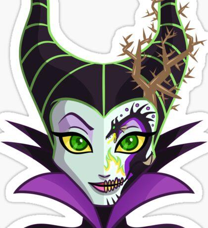Sugar Skull Series - Dragon Queen Sticker