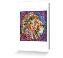 Protector painting - 2015 Greeting Card