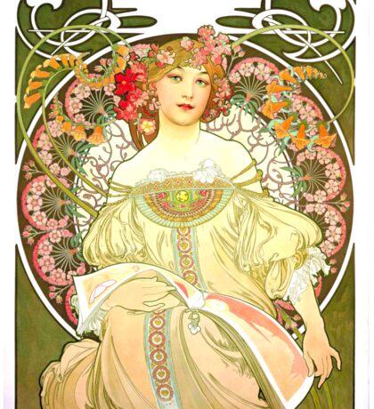 Alphonse Mucha - Rêverie Sticker