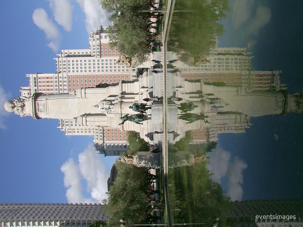 Plaza de Espana Madrid Spain by eventsimages