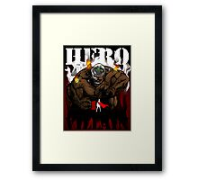 Professor Mad Brainer SMASH!! Framed Print