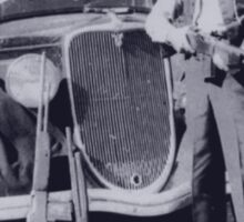 Clyde Barrow Sticker