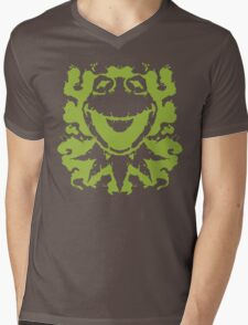 It's Not Easy Being Inked (green) Mens V-Neck T-Shirt